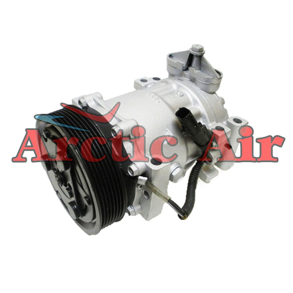 AC Compressor for 1994-2002 Dakota, Durango, Ram 1500/2500/3500, and Ramcharger front view