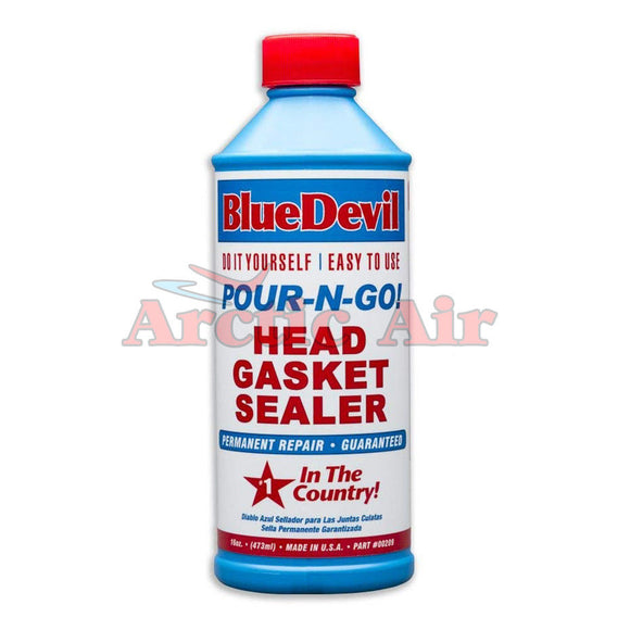 Blue Devil POUR -N-GO! Head Gasket Sealer 16oz