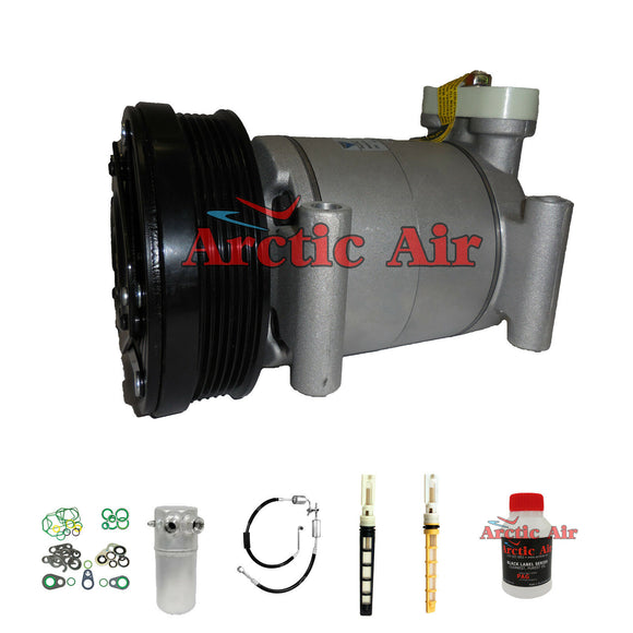 57950 A/C Compressor Kit Fits 1997-2000 Cadillac Escalade Chevy Tahoe GMC Yukon