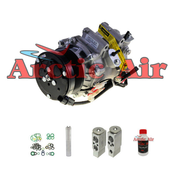 97555 New A/C Compressor Kit fits 2006-2011 Honda Civic 1.8L 2 Door Only