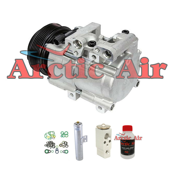 57119 A/C Compressor Kit fits 2002-2004 Kia Sedona 3.5L without Rear Air Only