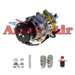 97355 New A/C Compressor Kit with Clutch Fits 2007-2008 Chrysler Pacifica 3.8L