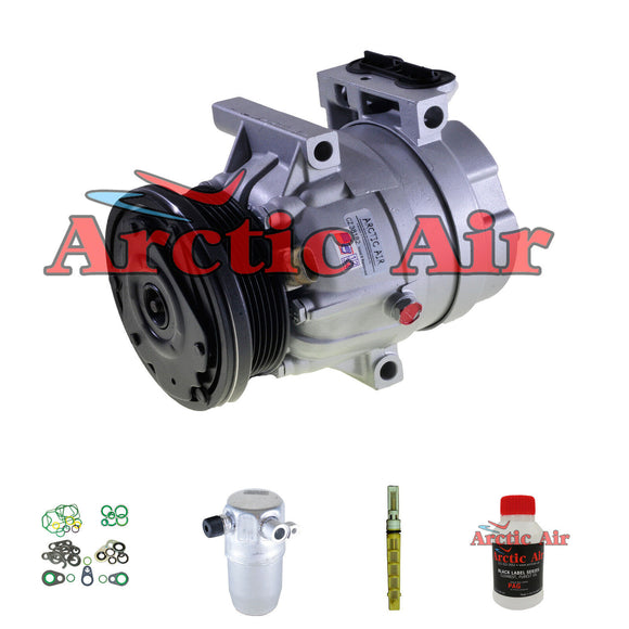 57992 New A/C Compressor Kit Fits 2002-2003 Chevy Malibu 3.1L Engine V5