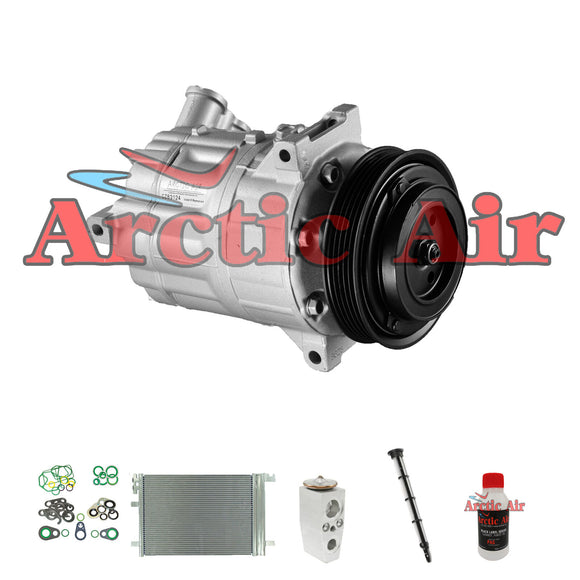 97556 A/C Compressor Kit with Condenser for 2008-2011 Chevy HHR 2.4L 2008 2.2L