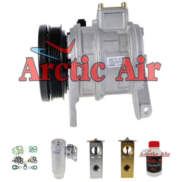 New 57378 A/C Compressor Kit fits 1996-2000 Dodge (Gr)Caravan Plymouth (Gr)Voyager