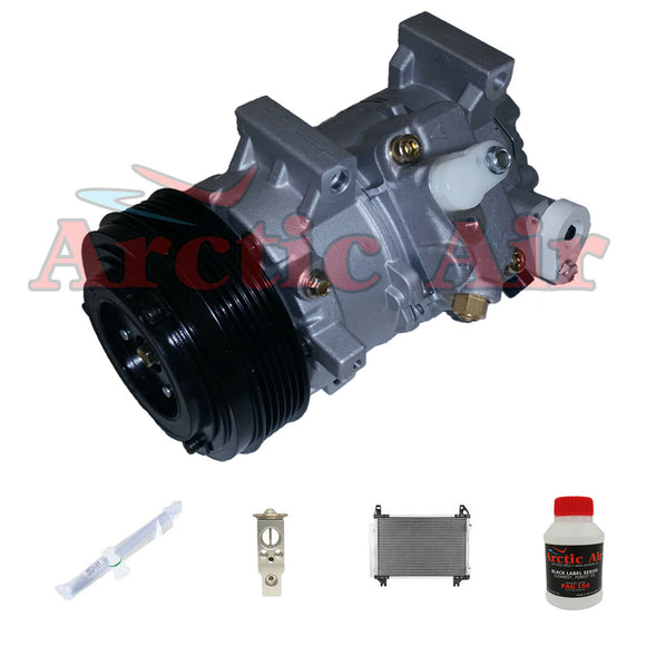 67328 New A/C Compressor Kit Fits 2008-2011 Scion xD 1.8L Engine