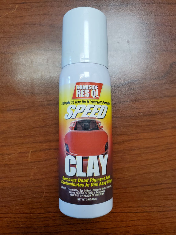 Roadside Res Q Speed Clay 3 oz | Dead Pigment and Contaminant Remover