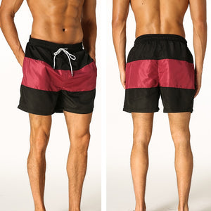 Quick drying shorts summer beach swimsuit