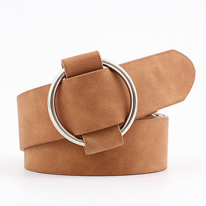 New Fashion womens designer round casual ladies belts