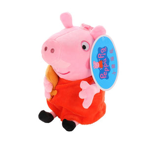 Peppa Pig Toys Cartoon Family Friend Pig Party Dolls