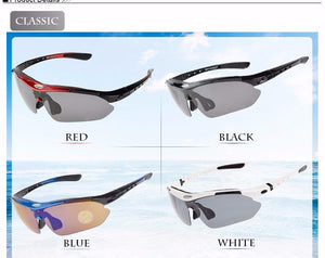 RockBros Polarized Cycling Outdoor Sports Bicycle Glasses Men Women