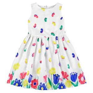 100% Cotton Flower Print Dress