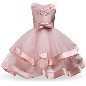 Children Girls Dresses for Pageant Dance Party Ceremonies