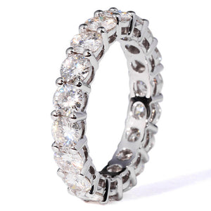925 SILVER PAVE SETTING FULL SQUARE Simulated Diamond