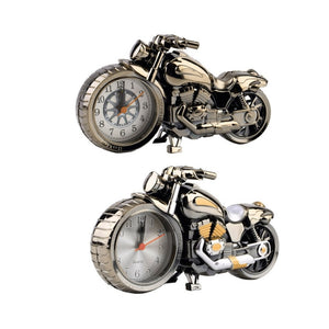 Motorcycle Creative Vintage Desktop Pocket Watches