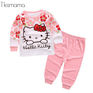 Baby Girl Hello Kitty Clothing Set, Infant Clothes Newborn Clothes Bebes Outfits