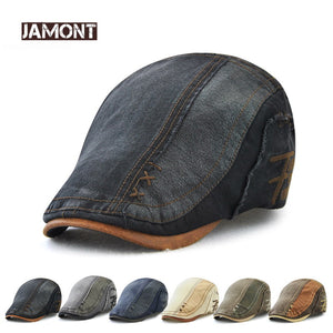 Brand Cotton Beret Hat for Unisex