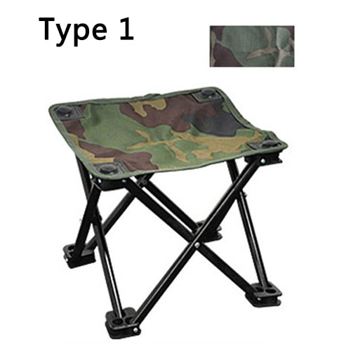 Miraculous Hiking Camouflage Folding Chair Oxford Cloth Beach Stool Fishing Seat Ultralight Portable Camping Chair Inzonedesignstudio Interior Chair Design Inzonedesignstudiocom