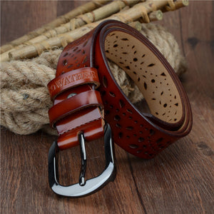 genuine leather jeans belts for Women
