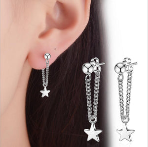 New 925 Sterling Silver Stud Earring