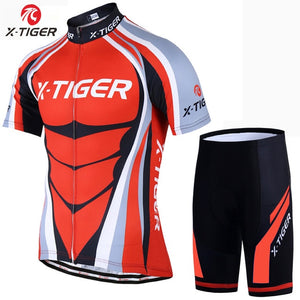 Cycling Jerseys Set