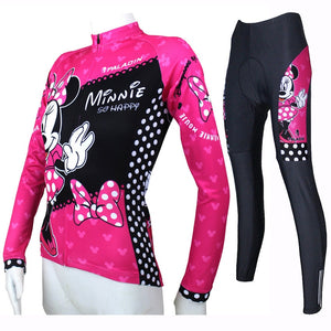Lovely Minnie cycling jersey