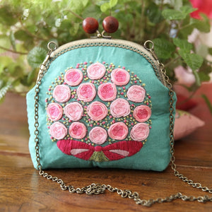 Coin Bag Hand Embroidery European Style Creative