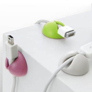 Collation Management Cable Fixed Clamp Protector Earphone Ties 6Pcs USB Charger