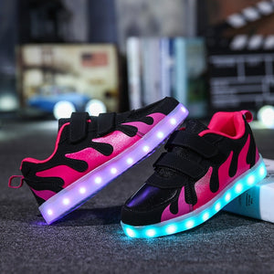2019 Tenis Led Shoes Glowing Sneakers