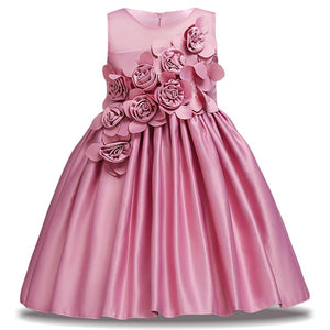2019 new children's flower girl dress wedding