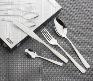 4 Pcs / Lot Set of Stainless Steel Flatware Cutlery