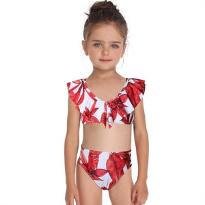 family matching swimwear beachwear mommy and me swimsuit mother daughte