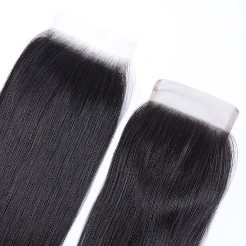 Indian Smooth Straight Lace Closure