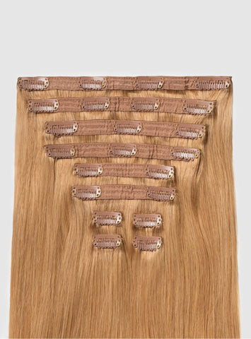 Indian Natural Straight Clip-Ins