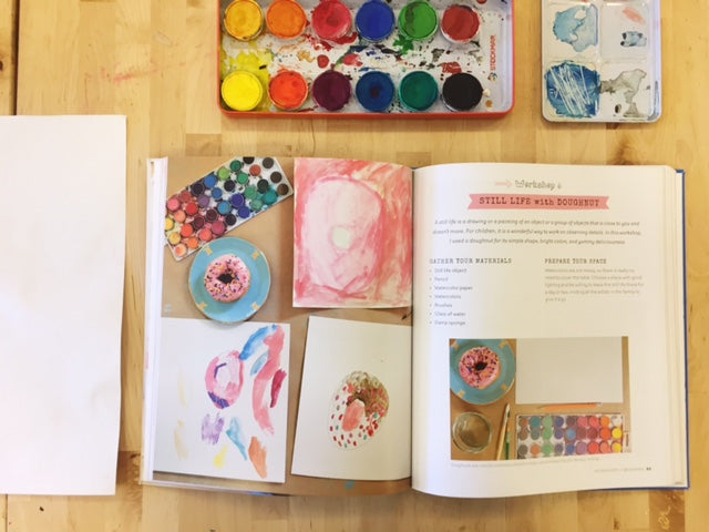 Art Workshop for Children | A Book From Art Bar!