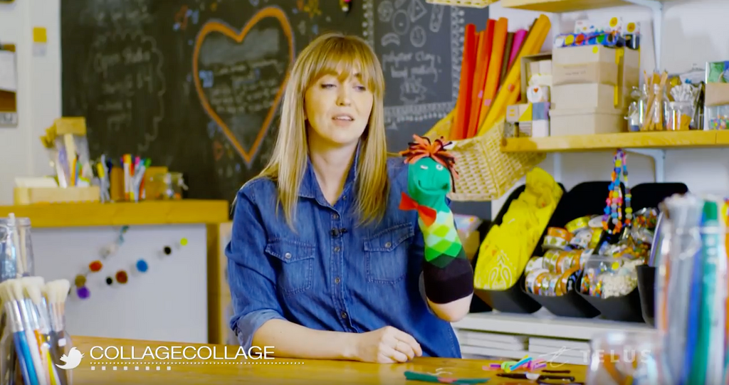 Telus Video Series: Sock Puppets