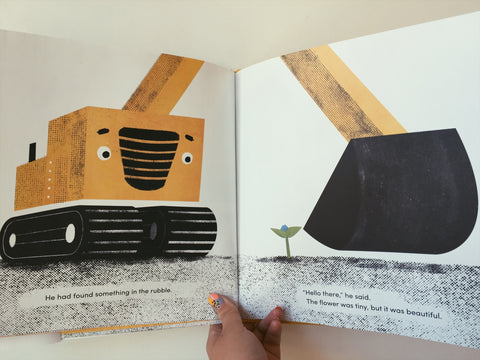 Digger and Flower book image