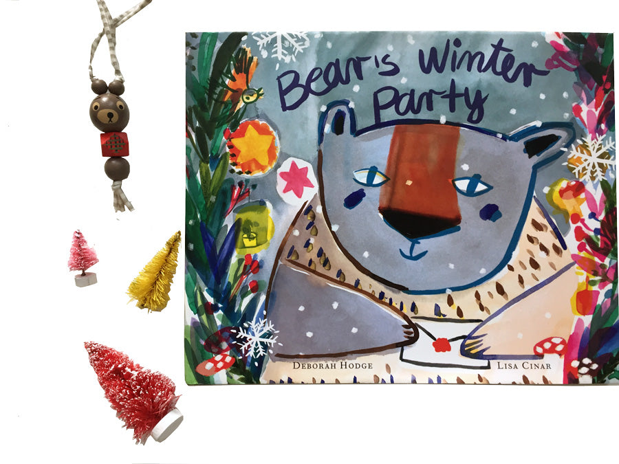 Bear's Winter Party Book in the Holiday Gift Guide for kids from Collage Collage