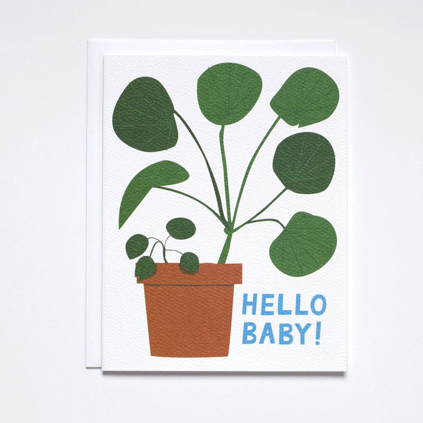 Hello Baby Houseplant by Banquet Workshop