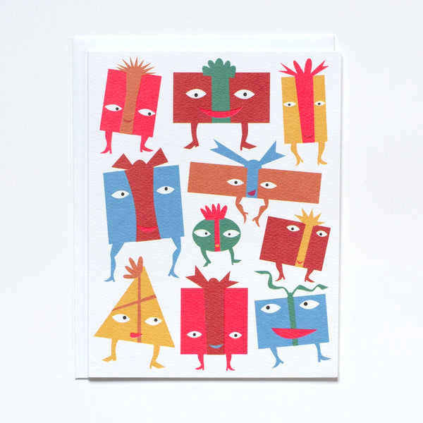 Greeting Card with Party Time Presents by Banquet Workshop