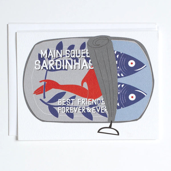Sardine Can for your main squeeze greeting card by banquet workshop