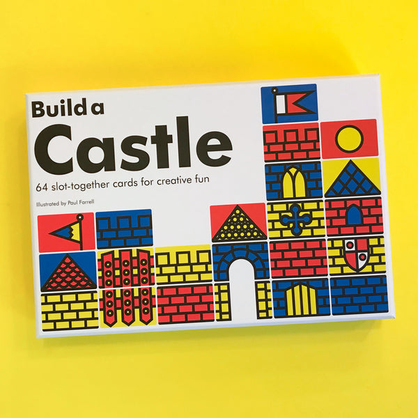 Build a Castle 64 Slot-Together Cards for Creative Fun