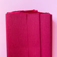 Crepe Paper Folds in Bordeaux Red