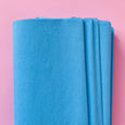 Crepe Paper Folds in Light Blue