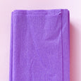 Crepe Paper Folds in Lilac