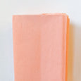 Crepe Paper Folds in Peach