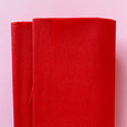Crepe Paper Folds in Red