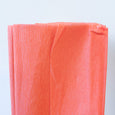 Crepe Paper Folds in Salmon