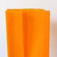 Crepe Paper Folds in Yellow Ochre