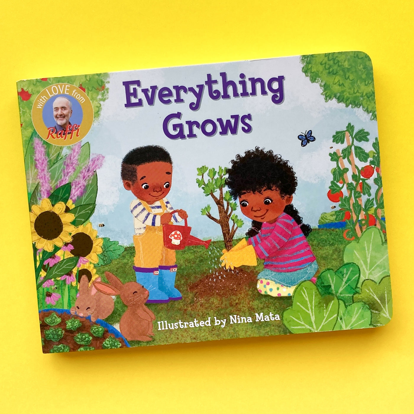 Everything Grows by Raffi; Illustrated by Nina Mata
